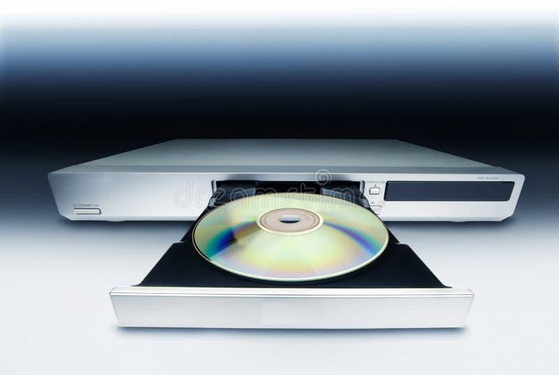 CD的DVD机 库存图片