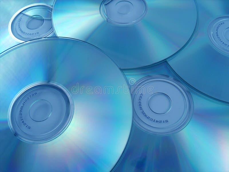 CD的s 免版税图库摄影