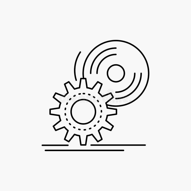 cd,圆盘,安装,软件,dvd线象 r 向量例证