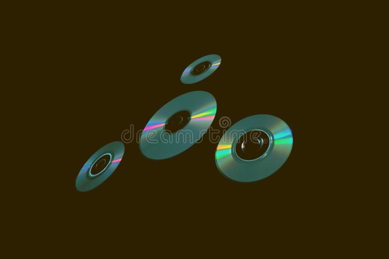 CD στο υπόβαθρο ελεύθερη απεικόνιση δικαιώματος