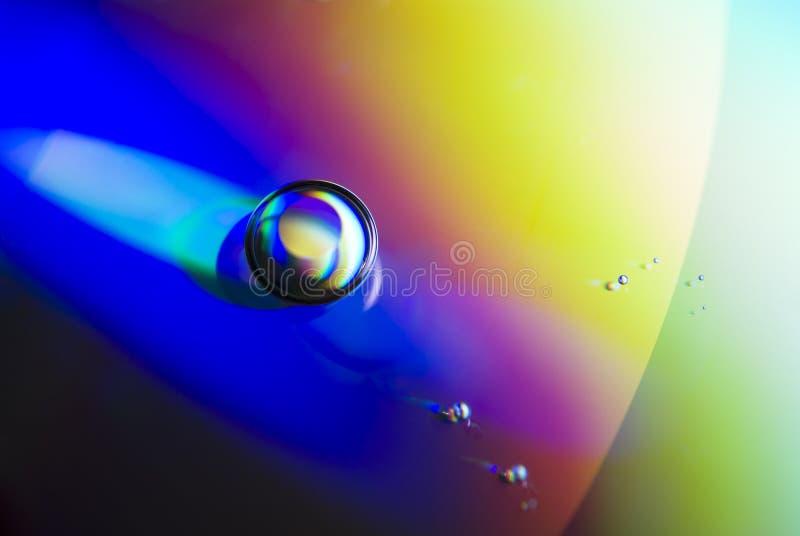 cd вода обоев падений стоковые изображения rf