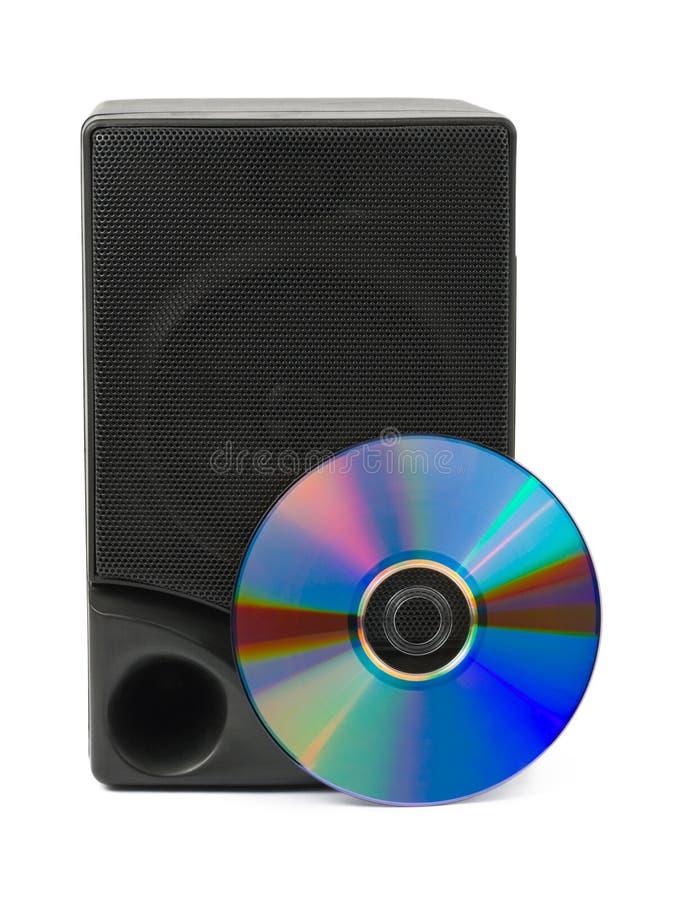 cd диктор нот стоковая фотография rf