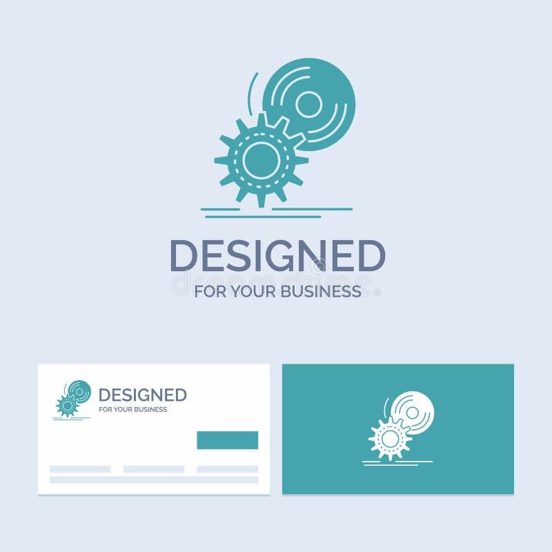 CD, диск, устанавливает, программное обеспечение, символ значка глифа логотипа дела dvd для вашего дела r бесплатная иллюстрация