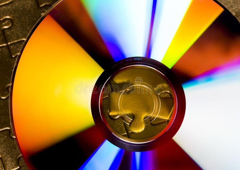 cd зигзаги стоковое изображение