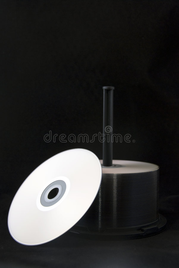 cd стог стоковое изображение
