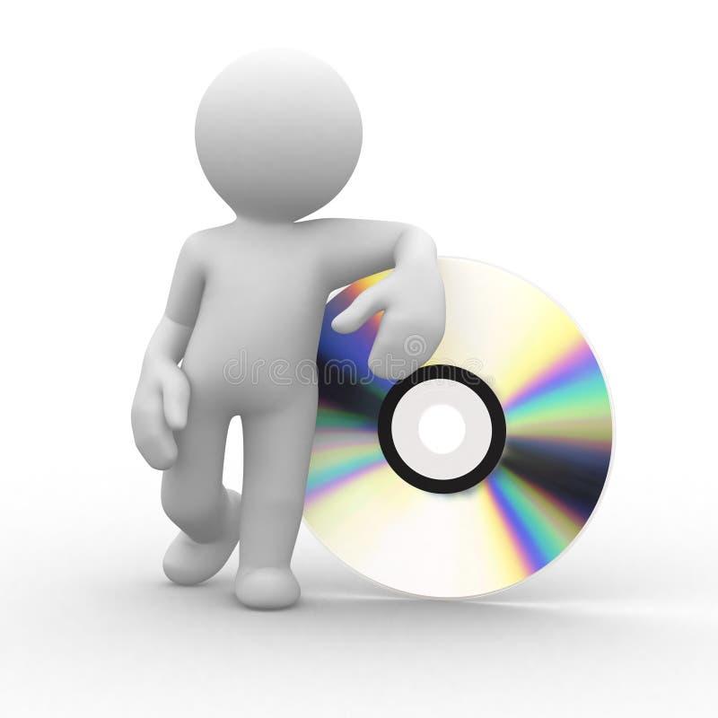 CD vector illustratie
