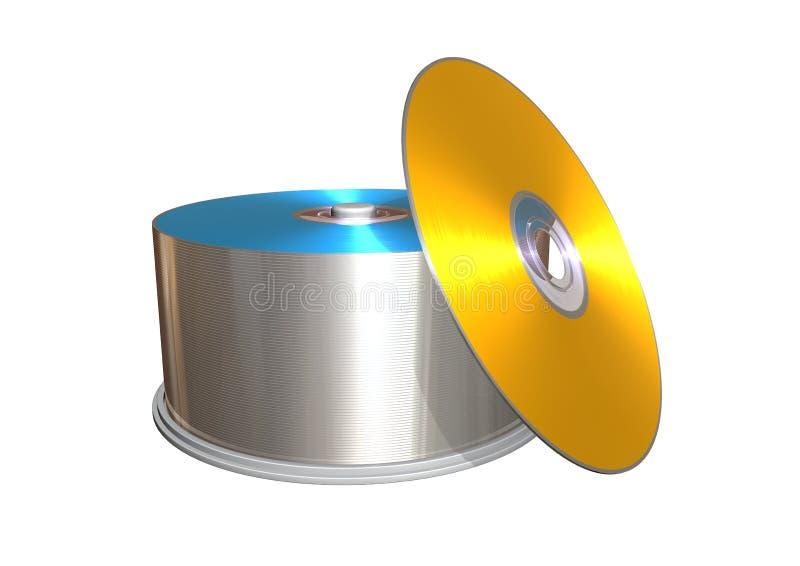 CD vektor abbildung