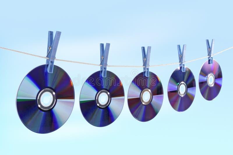 CD royalty-vrije stock afbeeldingen