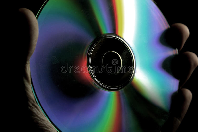 cd fotografia stock