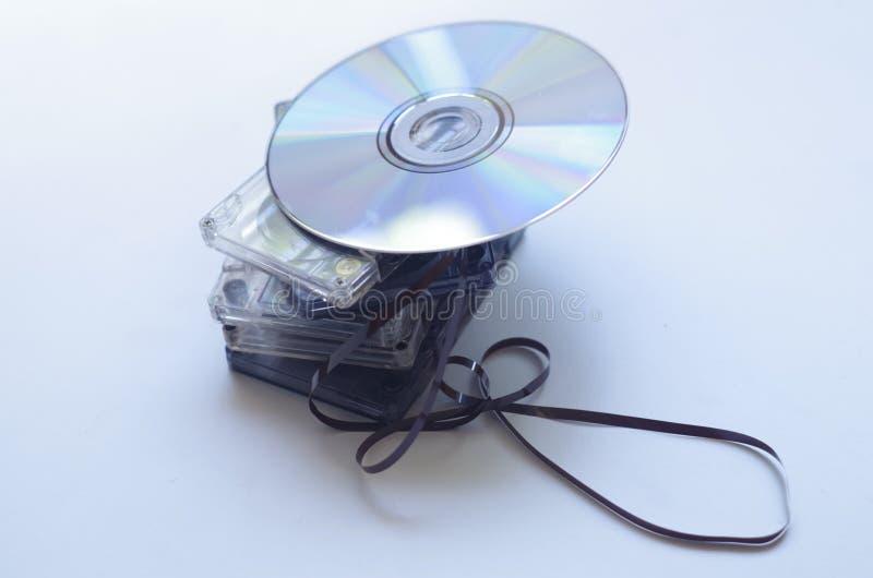CD royalty-vrije stock fotografie