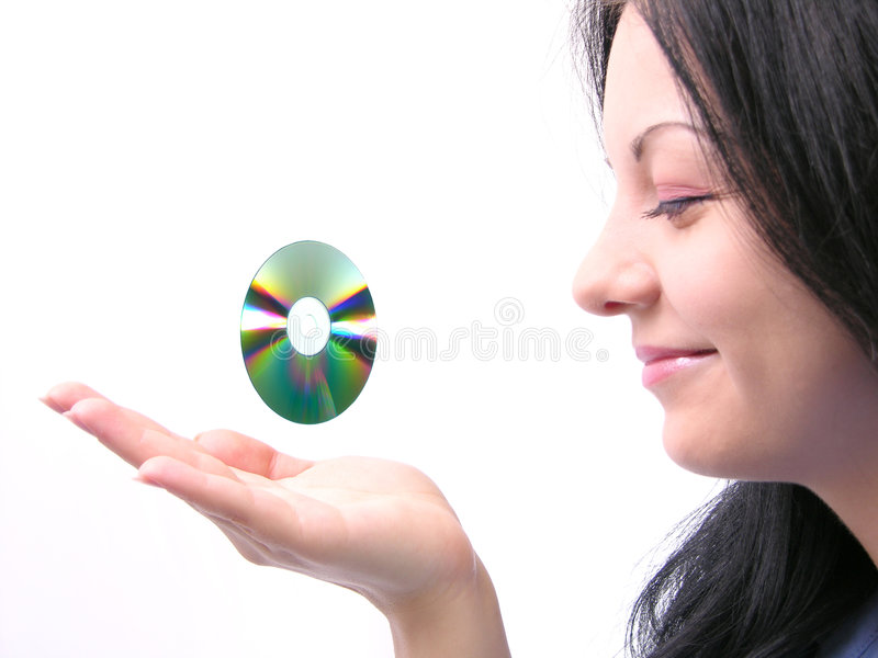 CD royalty-vrije stock afbeelding