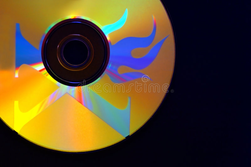 CD imagem de stock