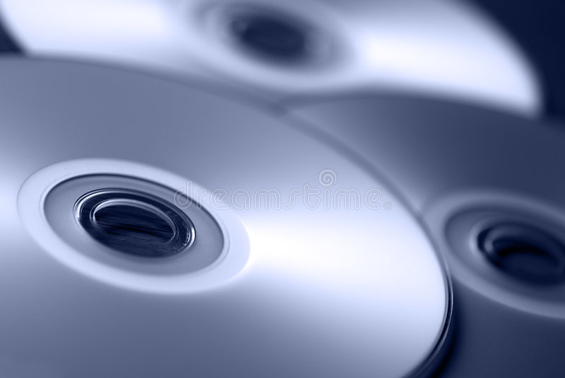 CD fotografie stock libere da diritti