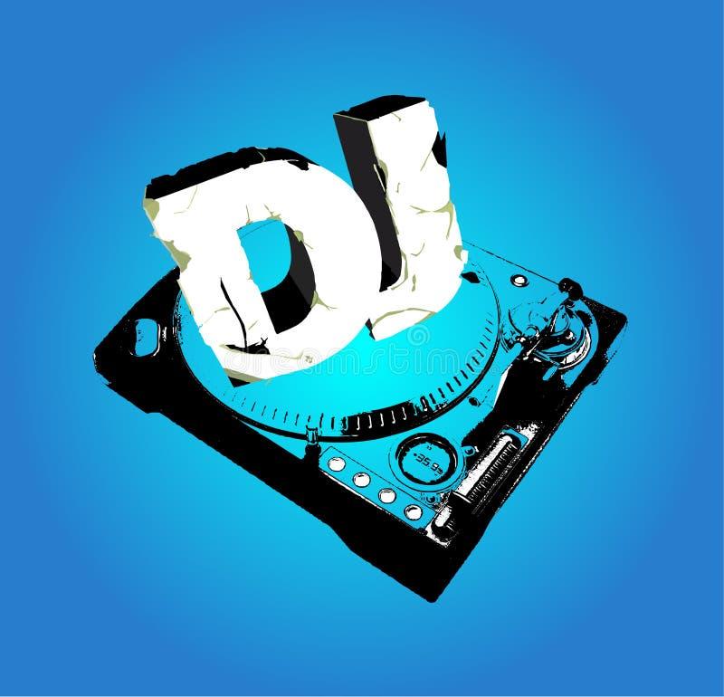 Cd Abdeckung für DJ stock abbildung