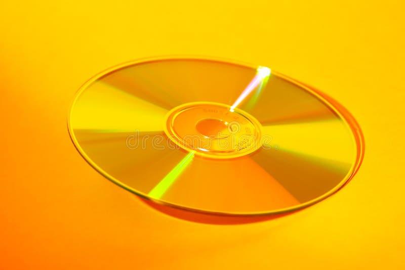 CD amarelo foto de stock royalty free