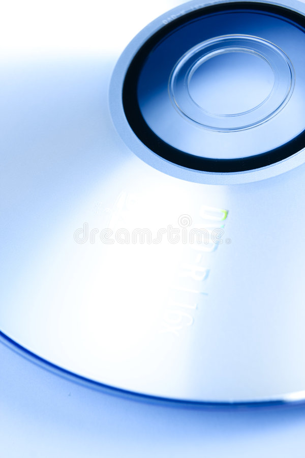 CD blu fotografie stock libere da diritti