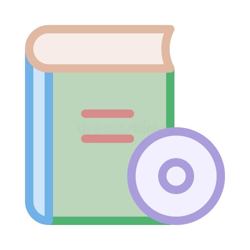 CD boksymbol vektor illustrationer