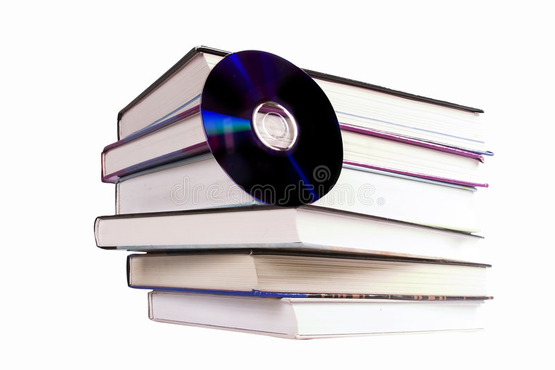 CD Book royalty free stock images