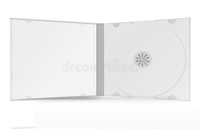 cd box on white background vector illustration