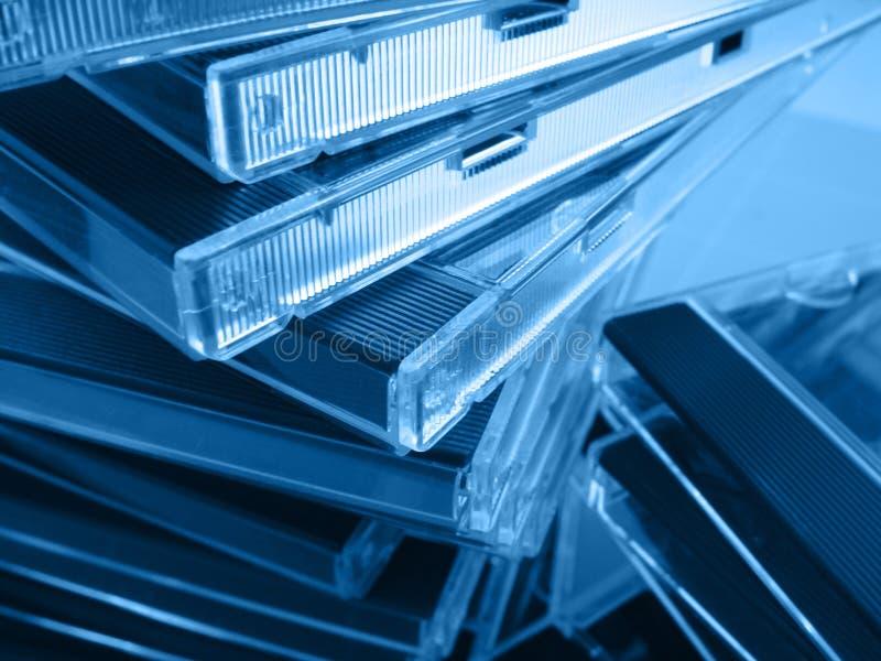 CD-caixa fotografia de stock