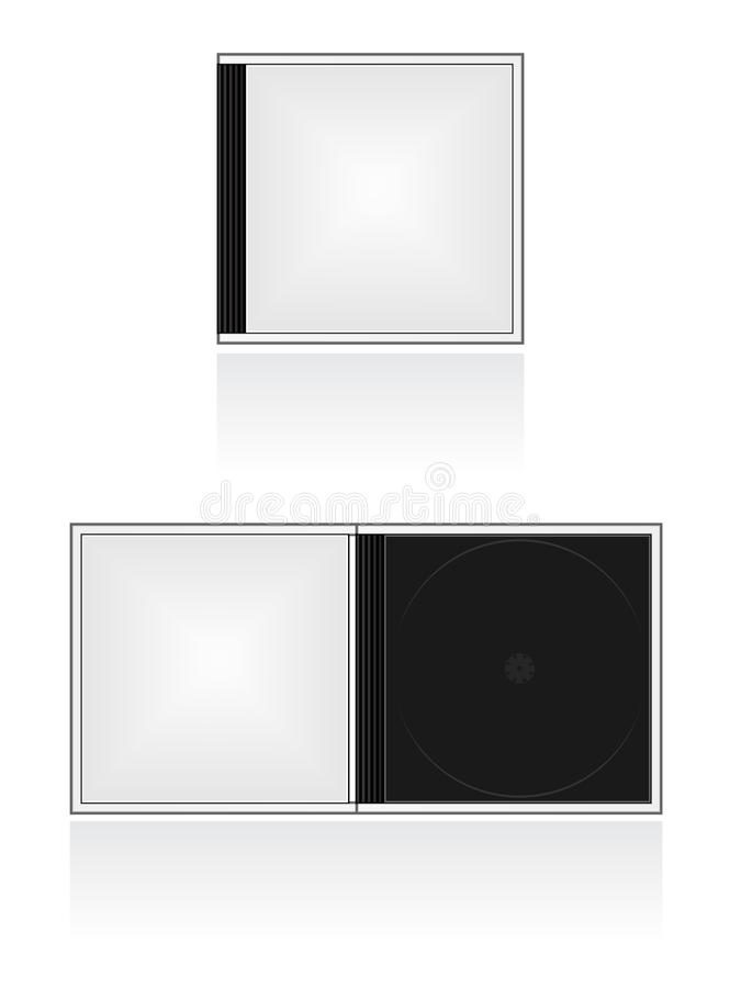 Download CD Case Icon stock vector. Image of casing, reflection - 15592073
