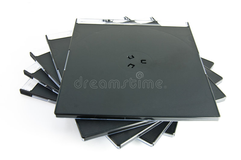 CD cases royalty free stock photography