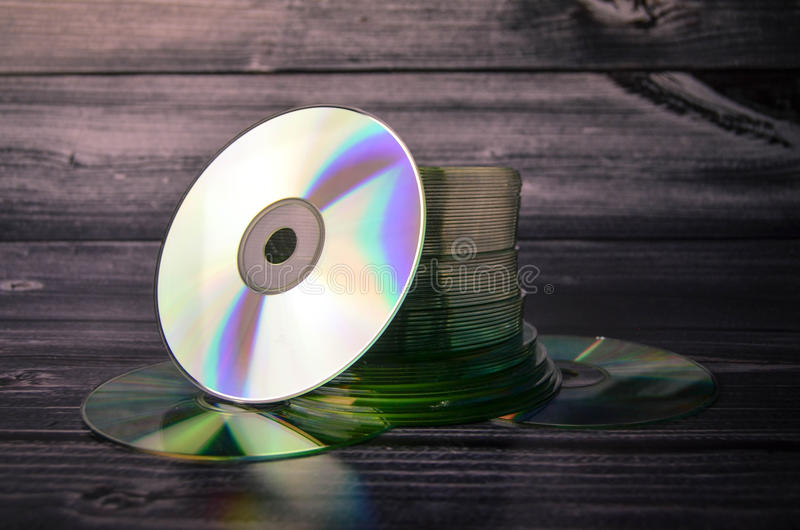 CD CDs compact disc royalty-vrije stock foto