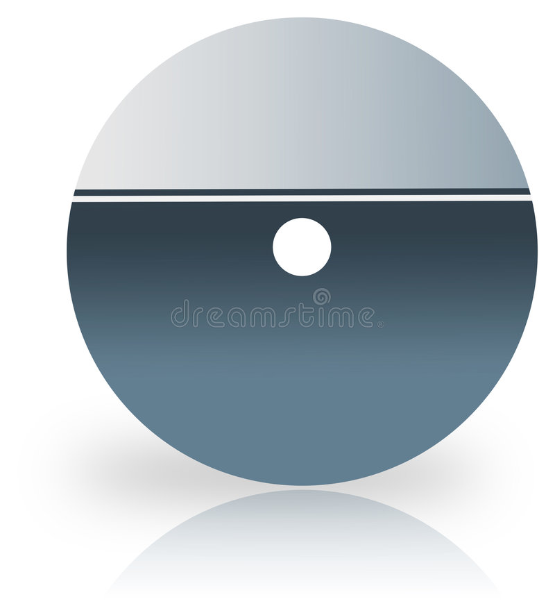 Cd cover. Over white background- computer generated clipart royalty free illustration