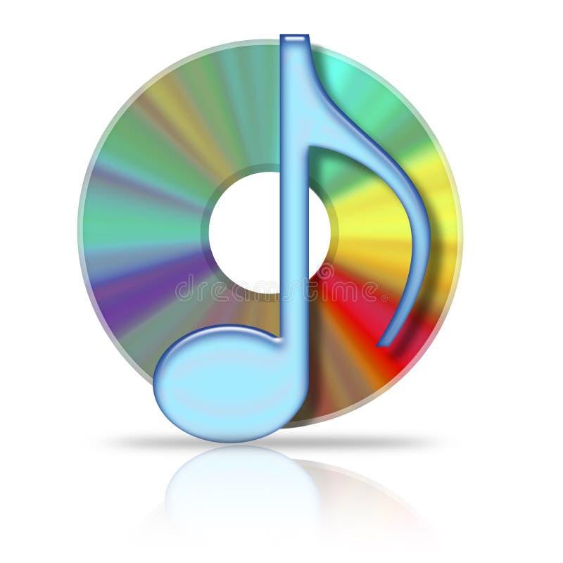 Cd de musique illustration de vecteur