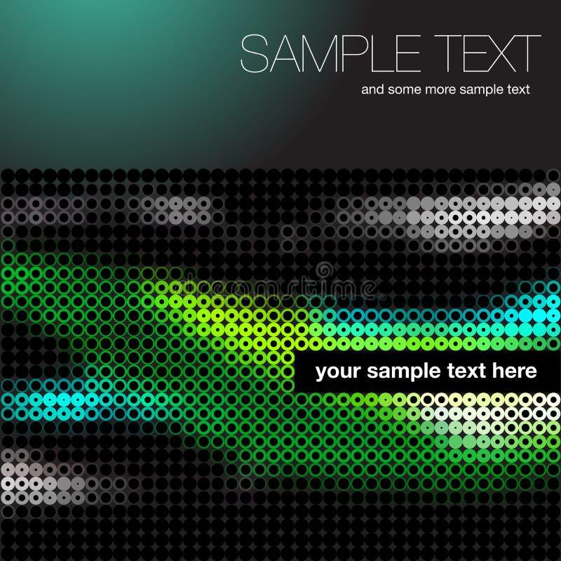 CD dekkingsachtergrond vector illustratie