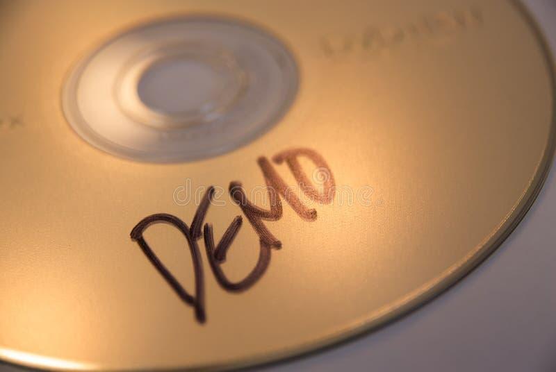 CD della dimostrazione immagini stock libere da diritti