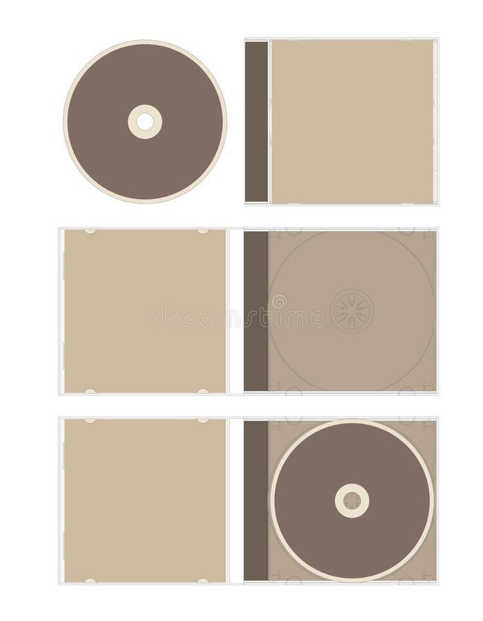 cd design arkivbild