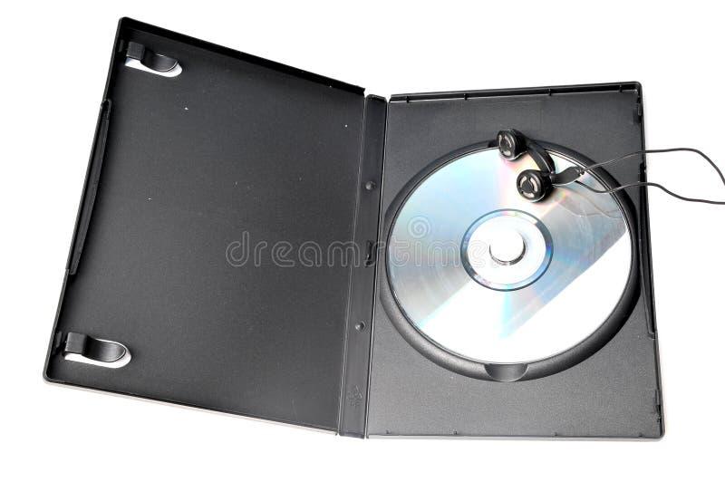 CD in doos stock foto
