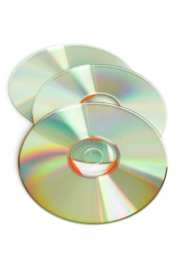 CD drie royalty-vrije stock foto