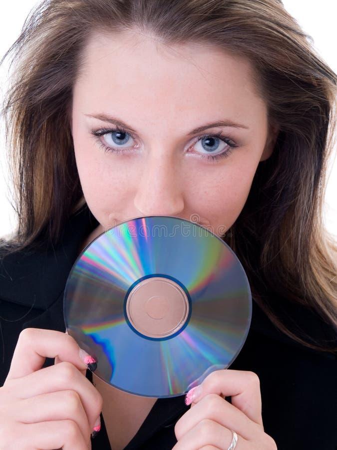 CD DVD stock foto's