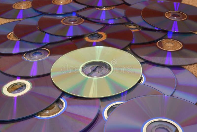 CD & DVD immagini stock