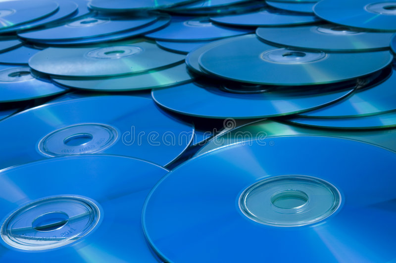 cd dvd royaltyfri bild