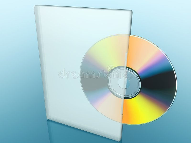 CD/DVD immagini stock libere da diritti