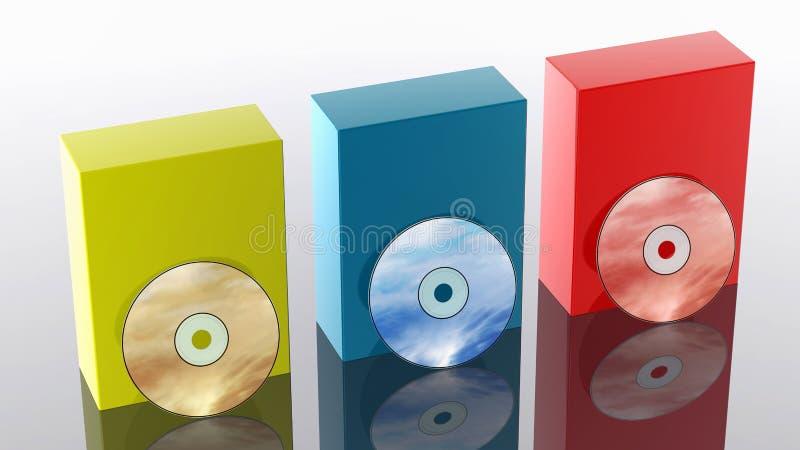 CD/DVD lizenzfreie abbildung