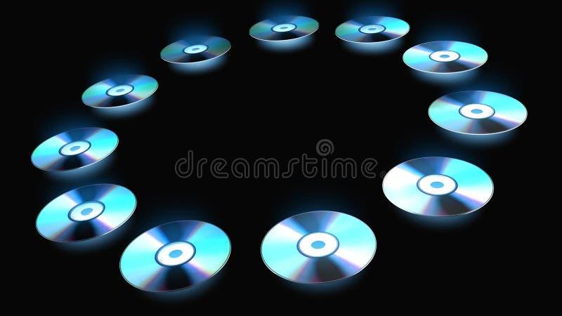 CD/DVD ilustração do vetor