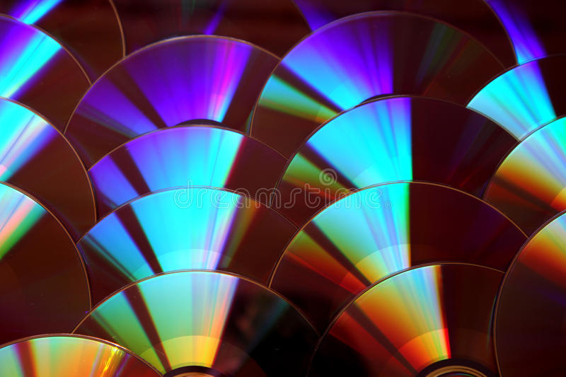 CD and dvd background stock photos