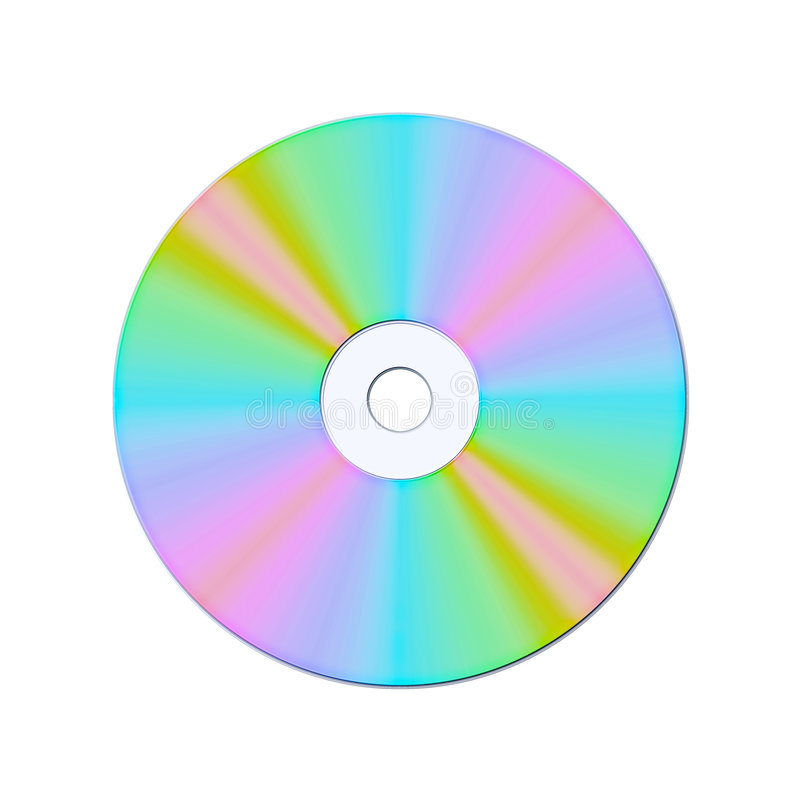 Cd dvd compact disk stock photography