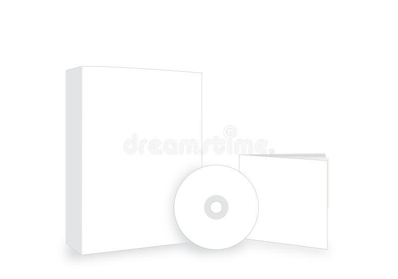 CD/DVD/Cover/Sticker Stock Photo