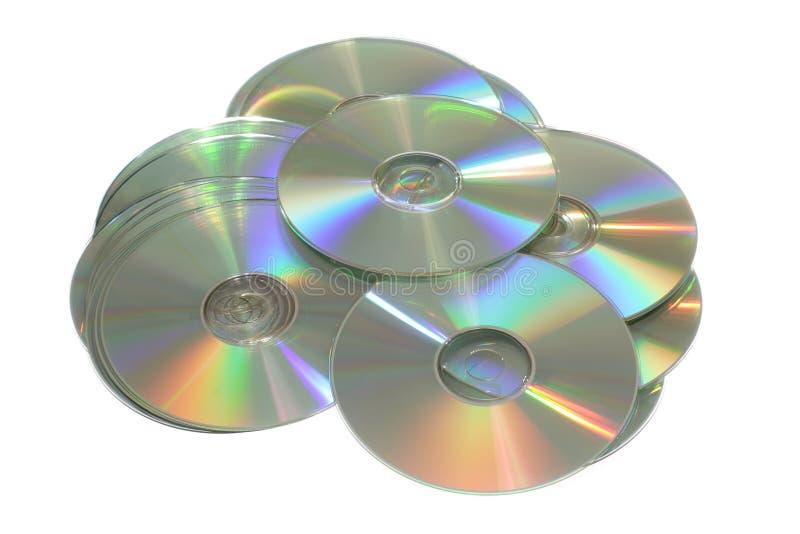 Cd or dvd disc stock photos