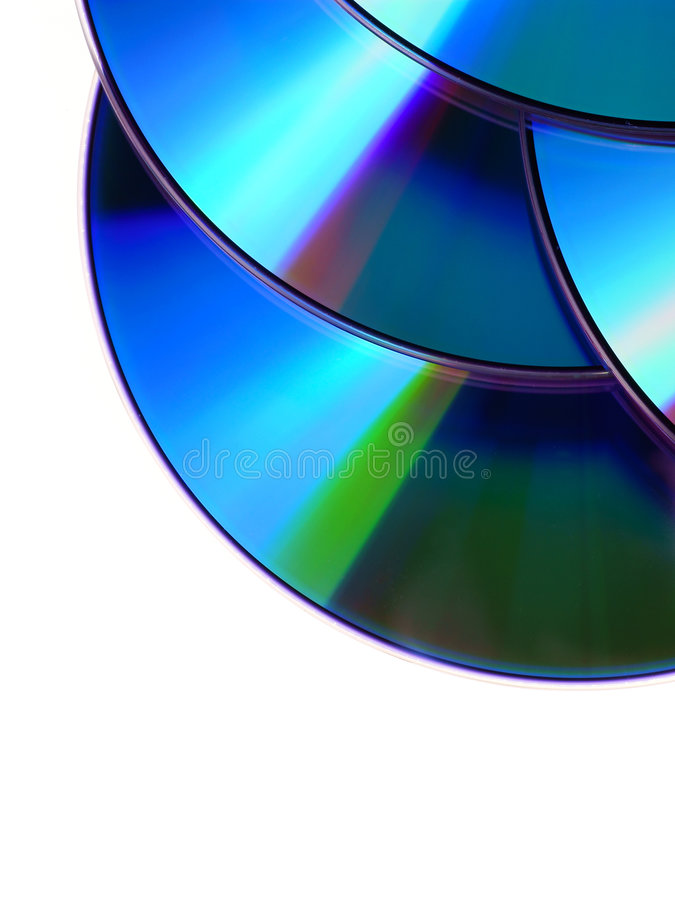 Download CD / DVD disc stock image. Image of objects, bunch, data - 6686443