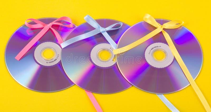 CD/DVD gift stock foto's