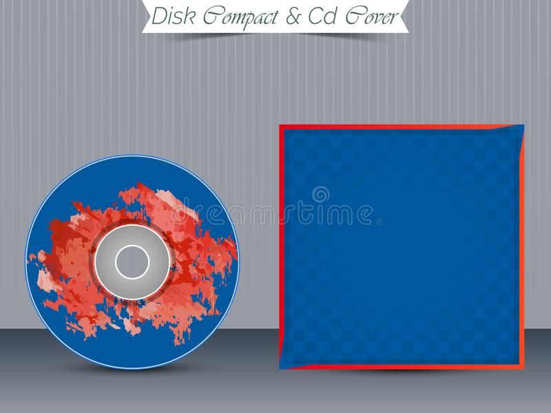 CD or DVD Jewel Case Templates. Nice and beautiful design templates for CD or DVD Jewel Case for Business with creative illustration vector illustration