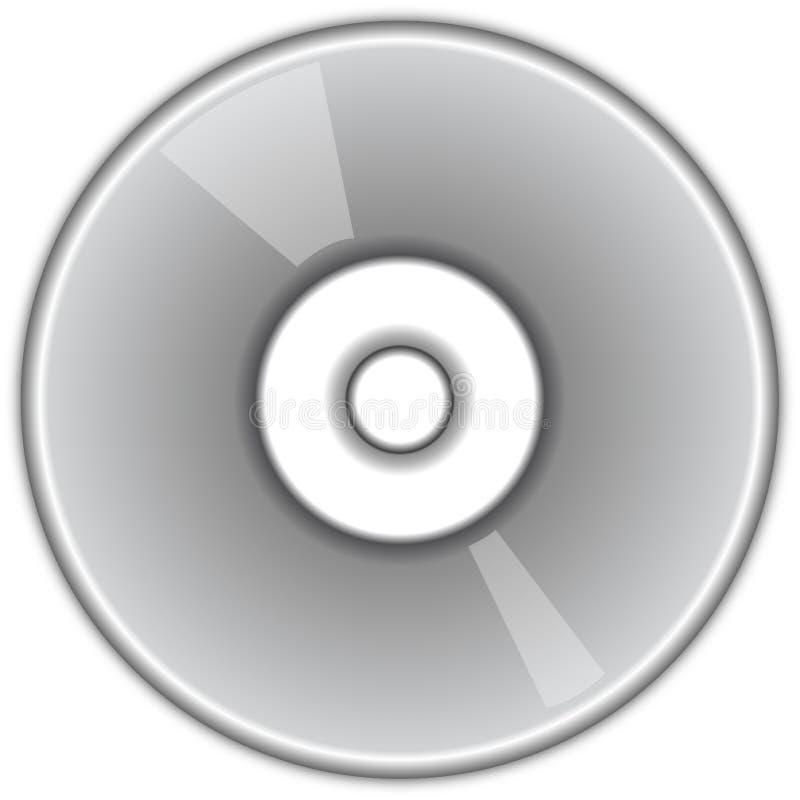 CD DVD Platte lizenzfreie abbildung