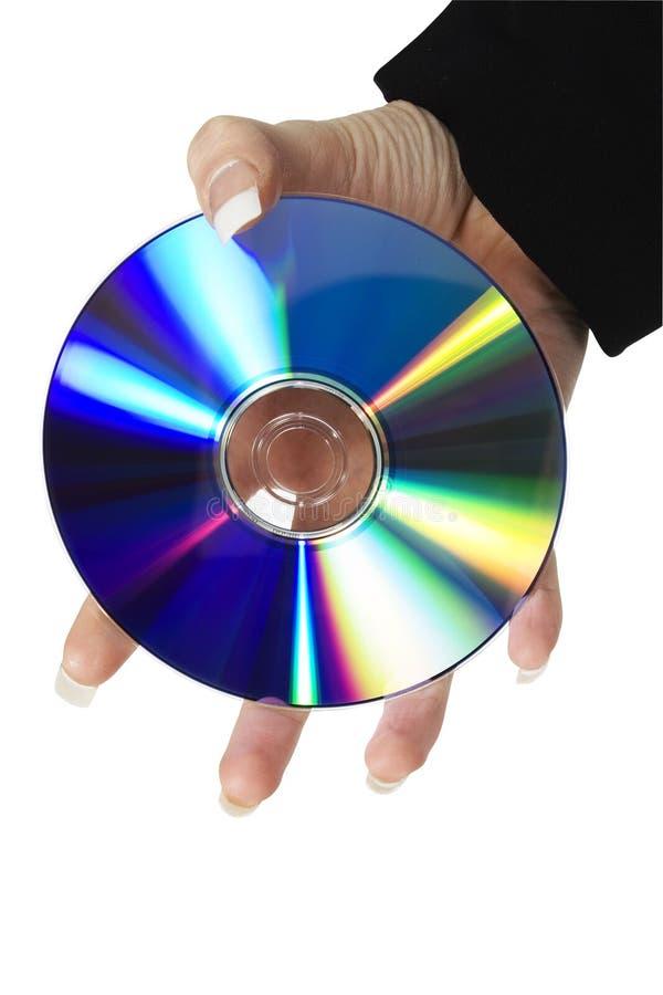 CD dvd-r Schijf royalty-vrije stock foto's