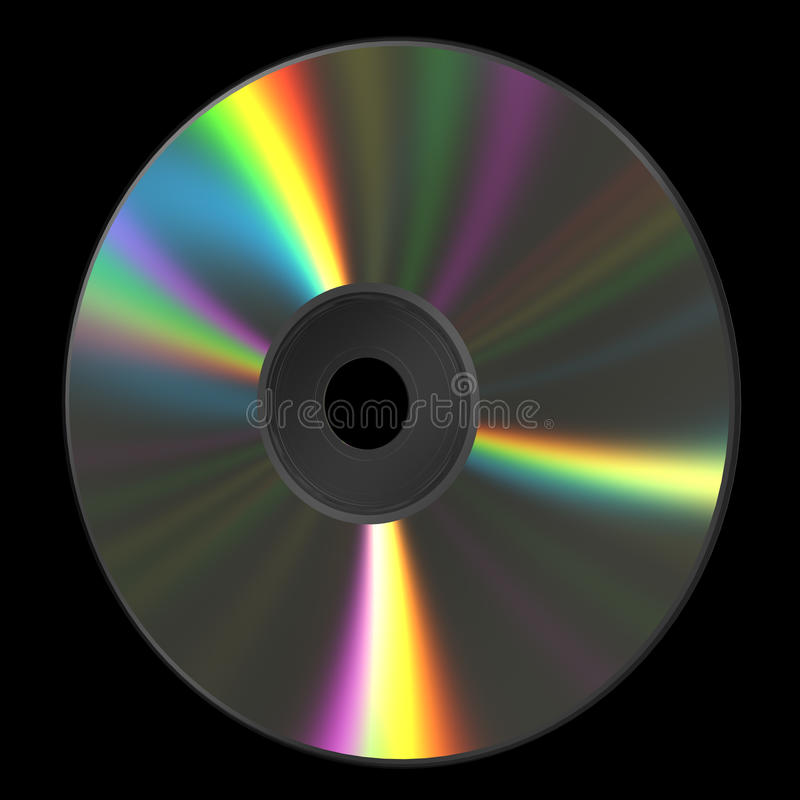CD DVD Schijf royalty-vrije illustratie